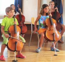 Cours de violoncelle avec la m�thode Suzuki